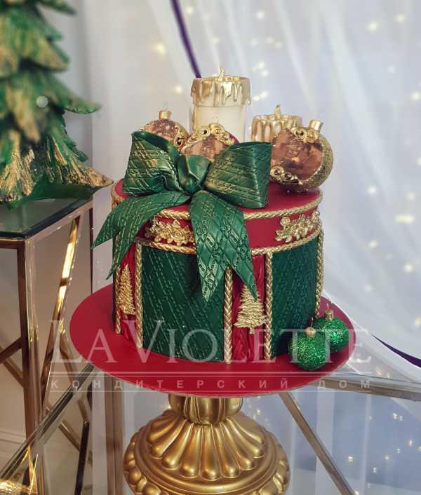 Новогодний торт на юбилей №1112