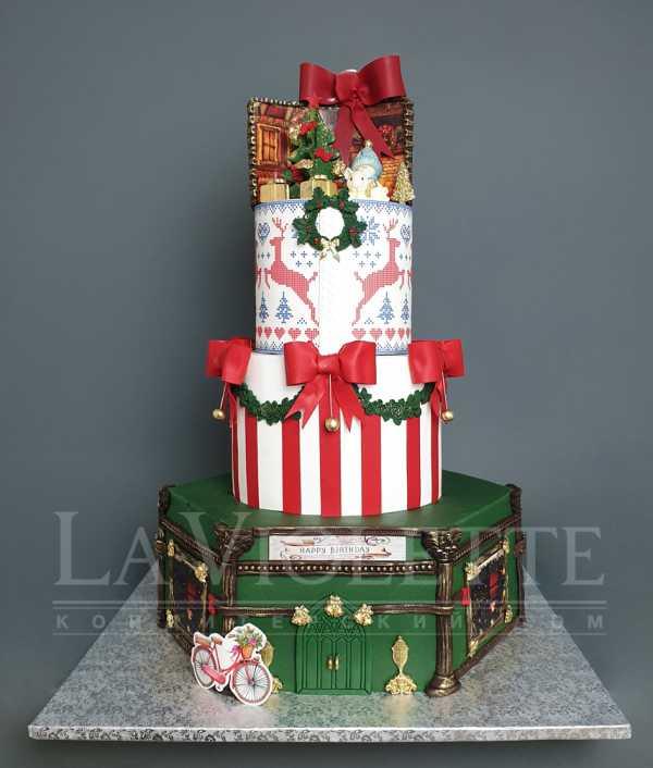 Новогодний торт №1115