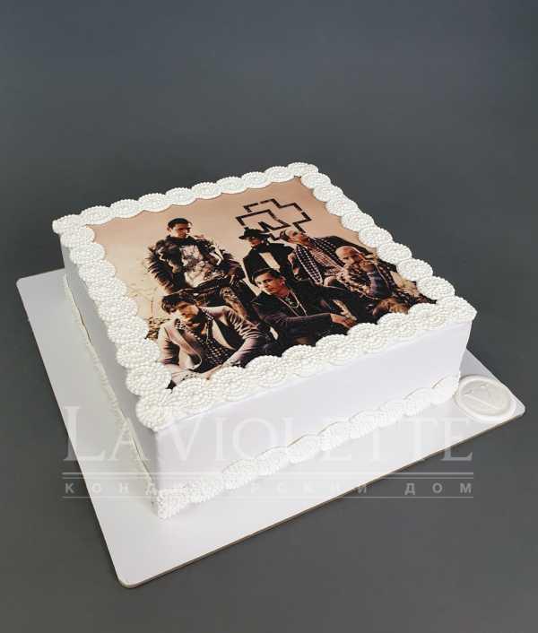 Торт с фотографией №1120