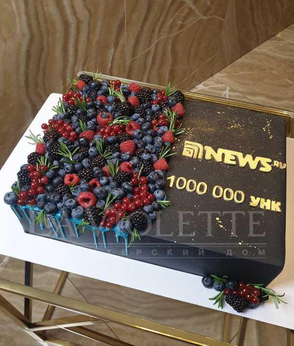 Торт с ягодами №1122