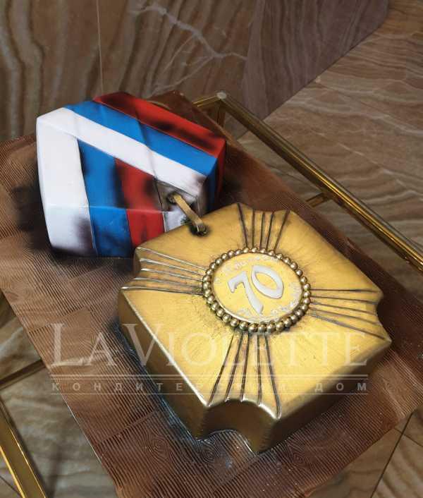Торт Медаль №1127