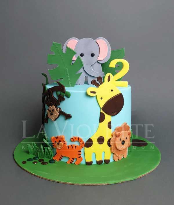 Торт с животными №1133