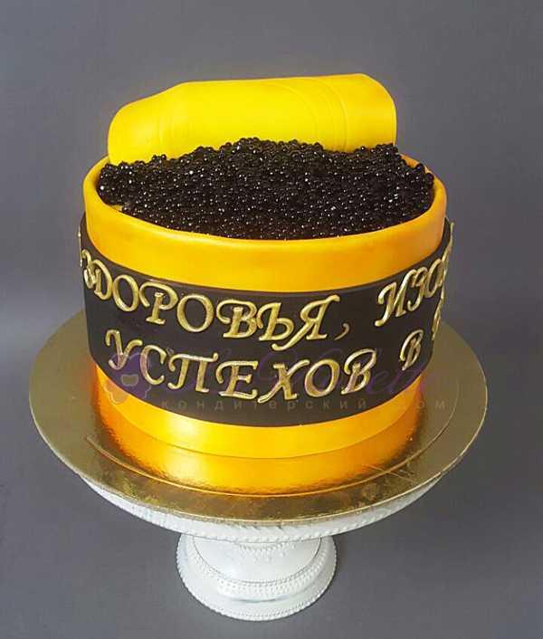 Торт с икрой №130