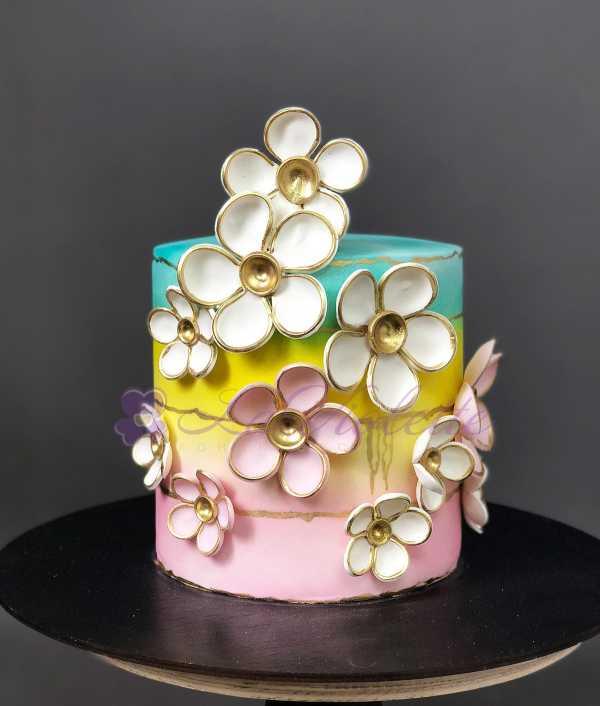 Торт весенний №112