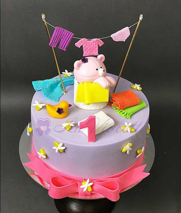 Торт с мишкой №153