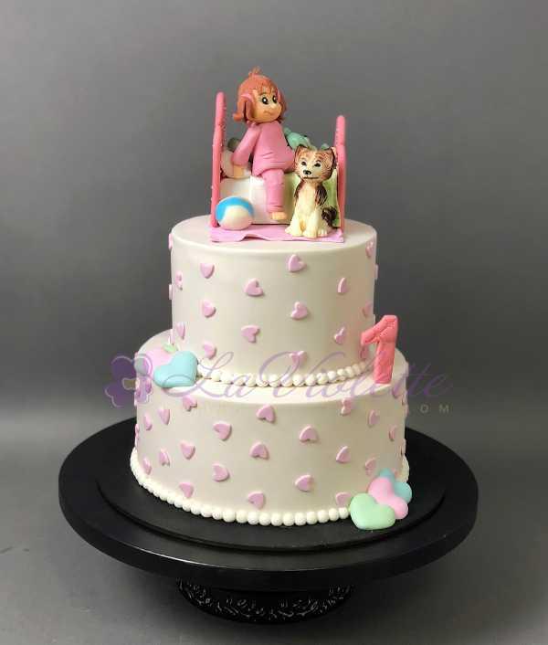 Торт с кроваткой №164