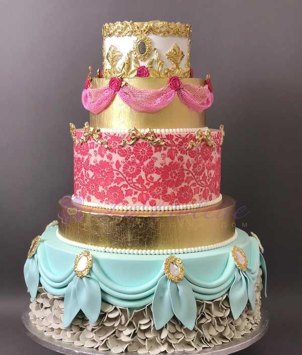 Торт изысканный №165