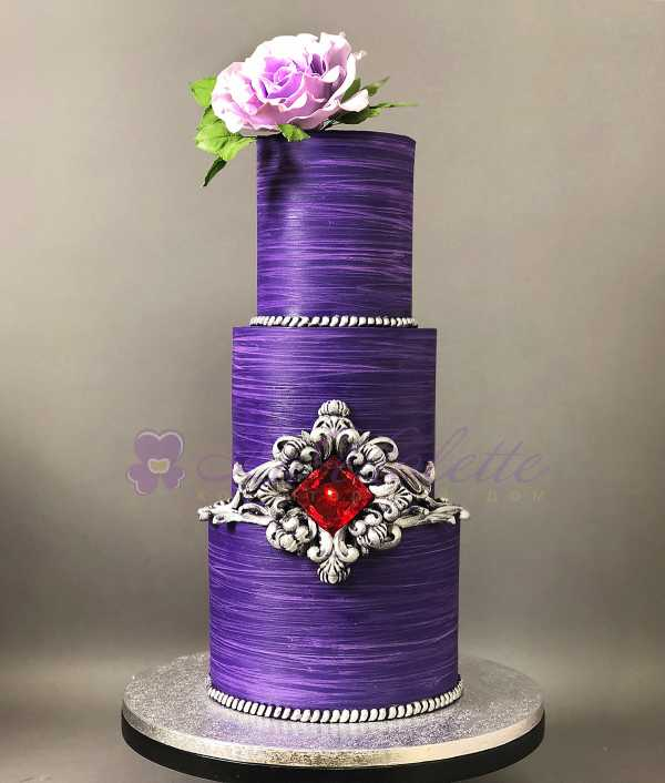 Торт с рубином №103