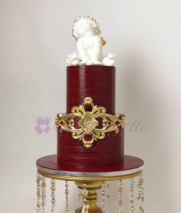 Торт с ангелом №135