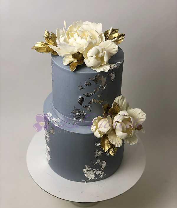 Торт с серебром №118