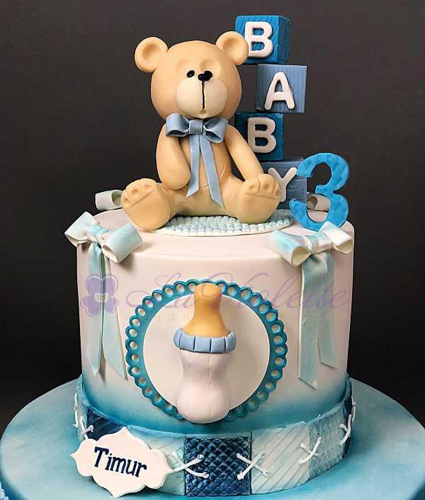 Торт с мишкой №174