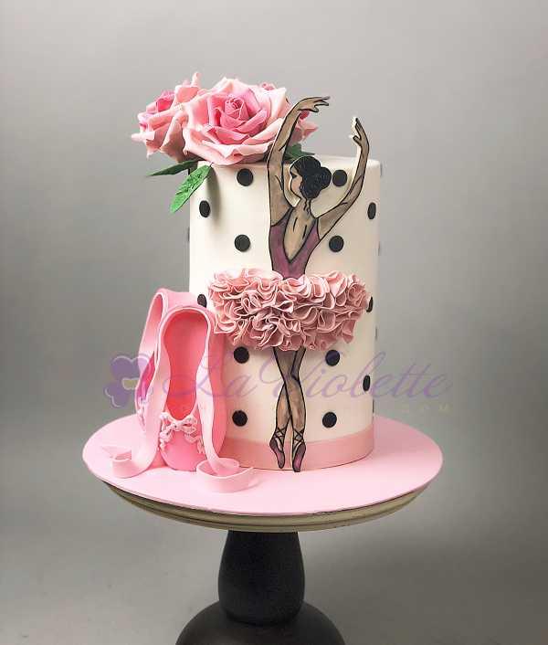 Торт для балерины №380