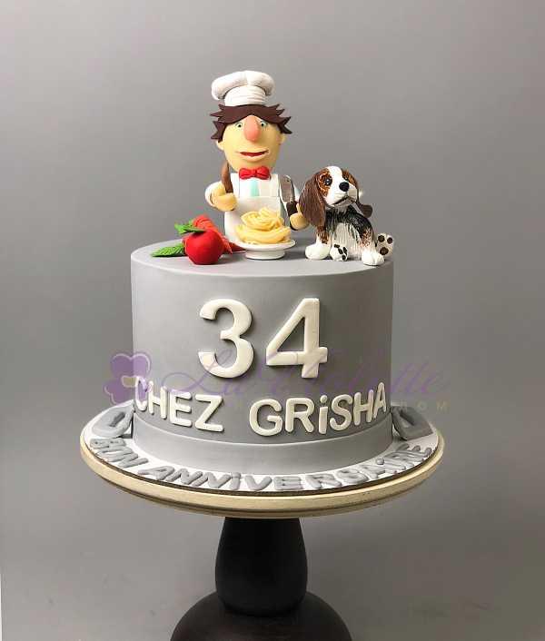Торт для повара № 390