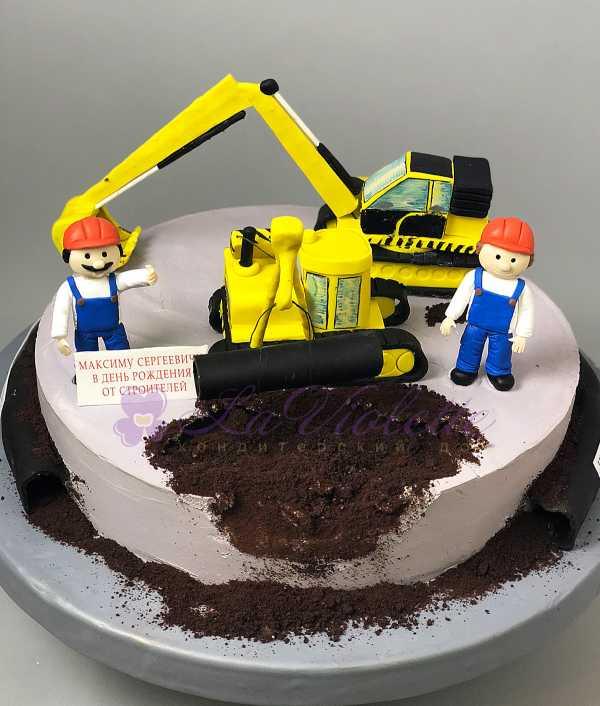 Торт для строителя №392