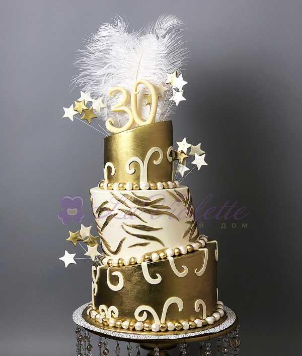 Торт Перья №402