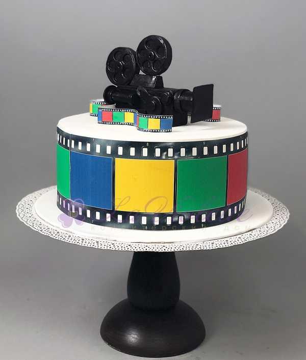Торт с камерой №422