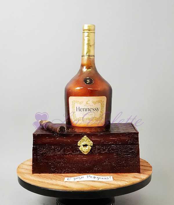 Торт Hennesy №452