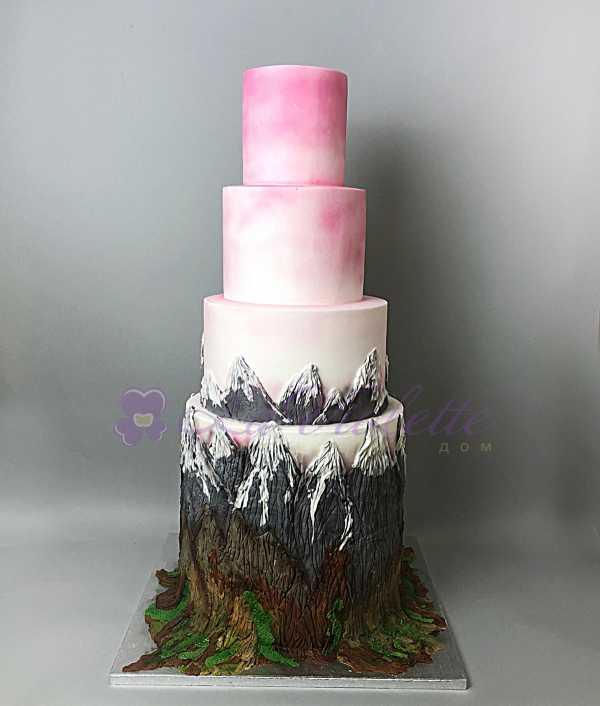 Торт с горами №490