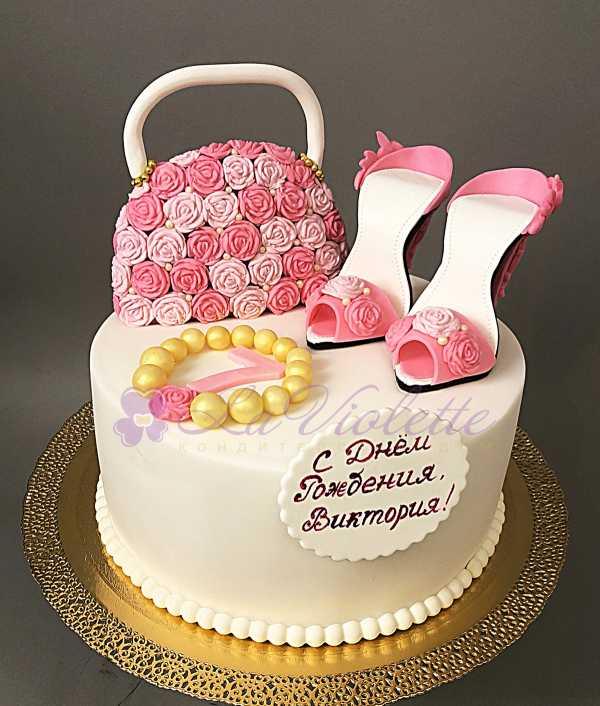 Торт с туфельками №507
