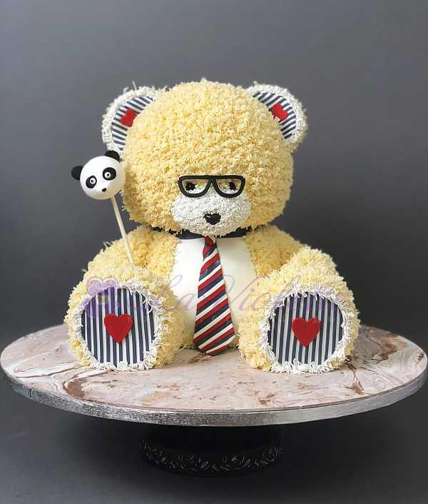 Торт плюшевый мишка №179