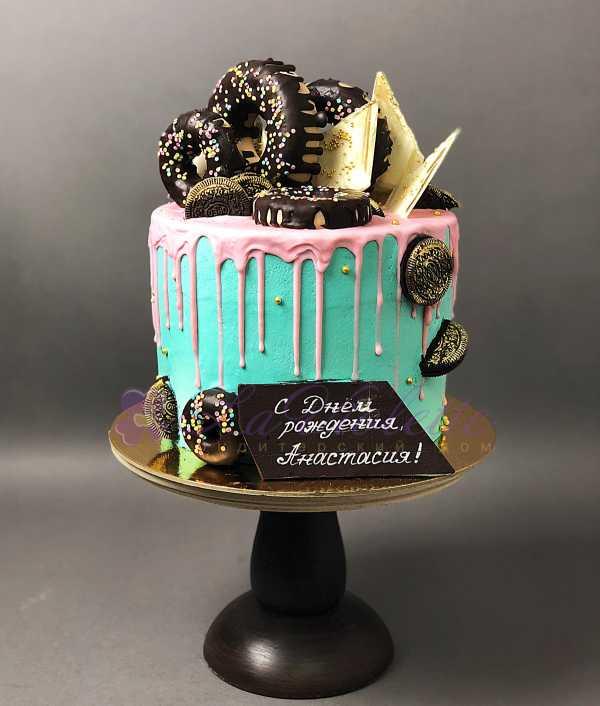 Торт с пончиками №160