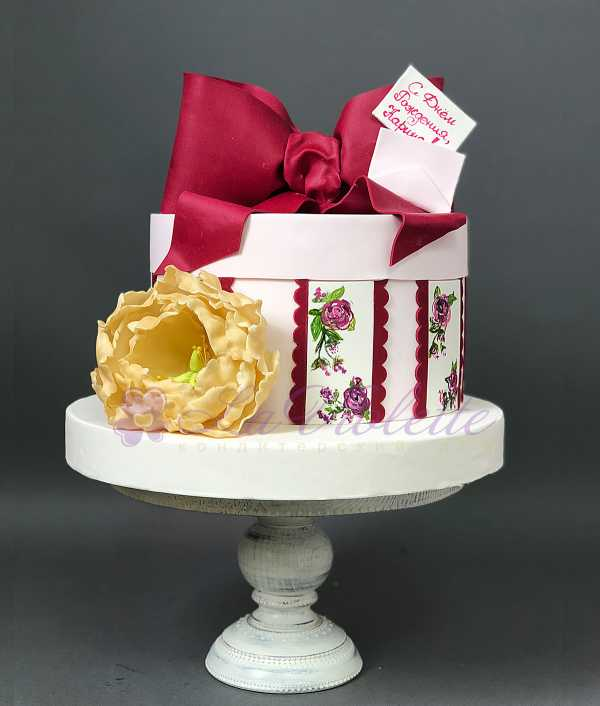Торт подарочный №109