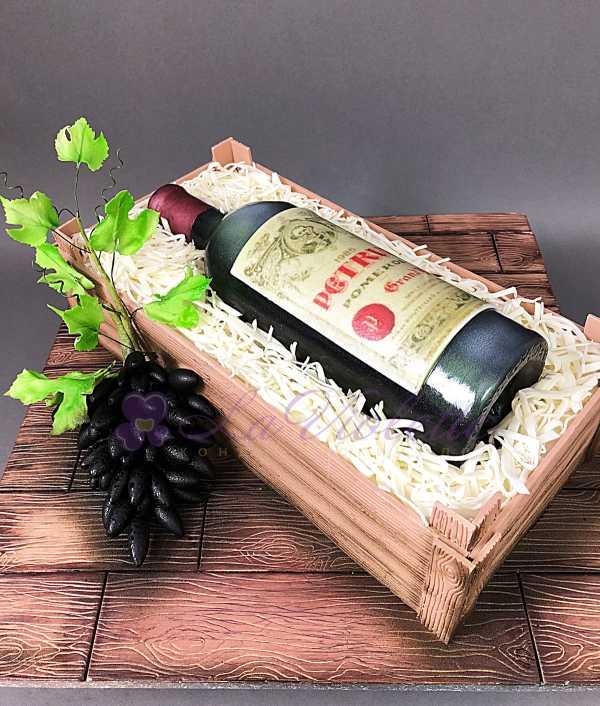 Торт винный №124