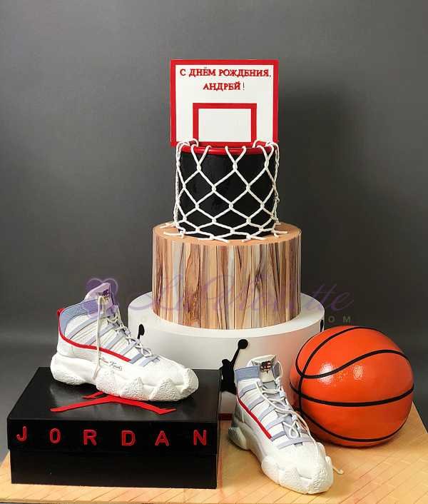 Баскетбольный торт №128