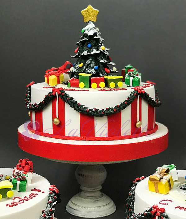 Новогодний торт №838