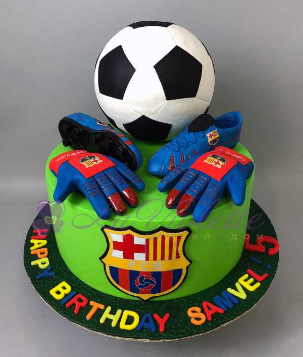 Торт для футболиста №851