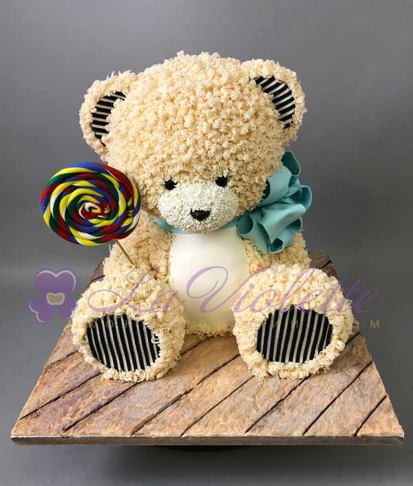 Торт плюшевый мишка №852