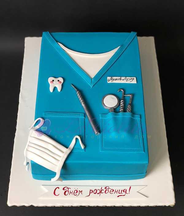 Торт для стоматолога №129