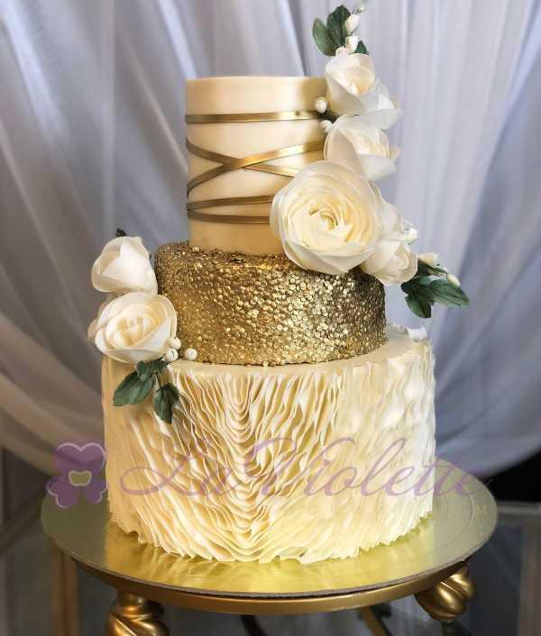 Свадебный торт №883