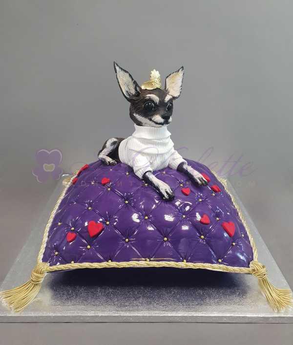 Торт Собака на подушке №884