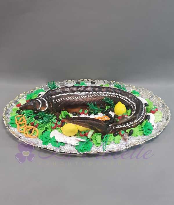 Торт Осетр №895