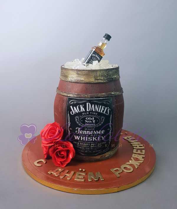 Торт Бочка с виски №901