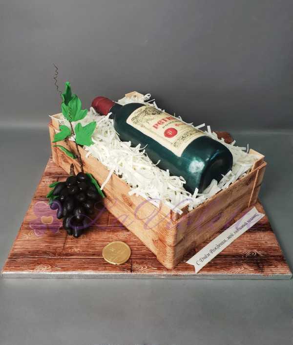 Торт с вином №908
