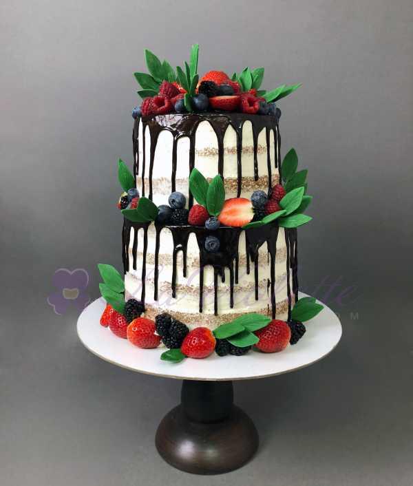 Торт ягодный №957