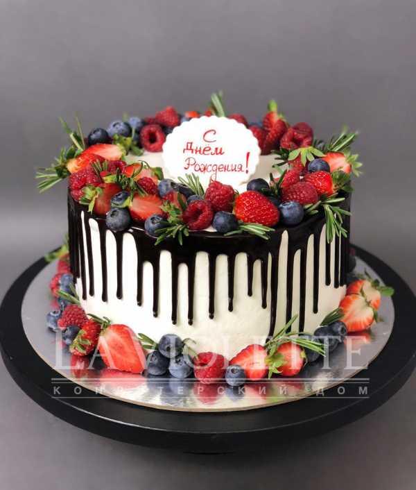 Торт с ягодами №933