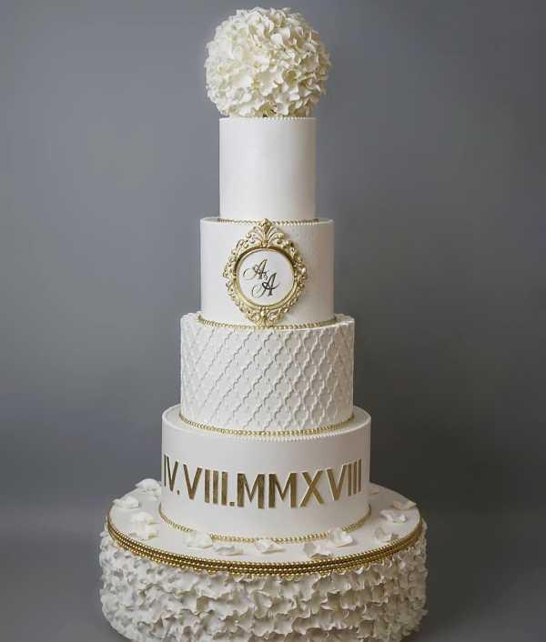 Свадебный торт №939