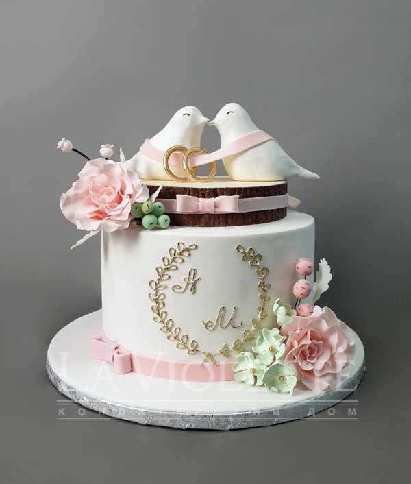 Свадебный торт Голуби №942