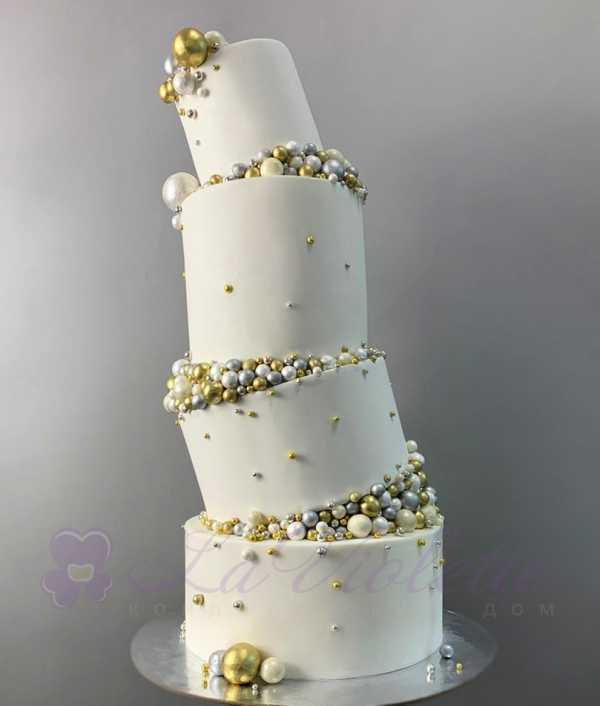 Торт свадебный №950