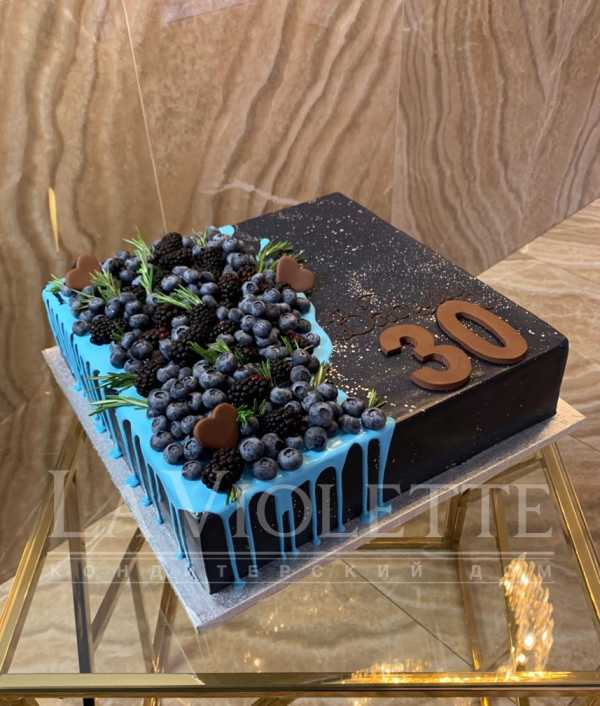 Торт с ягодами №960
