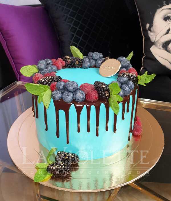 Торт c ягодами №962