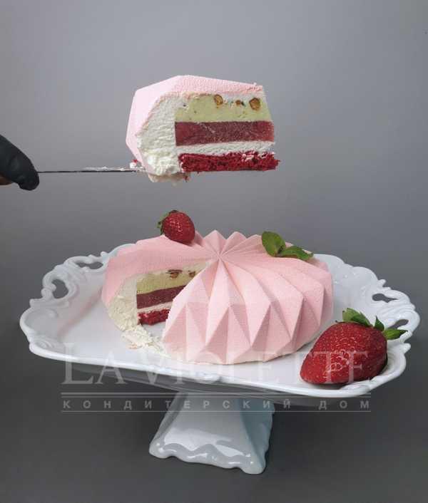 Муссовый торт Геометрия №977