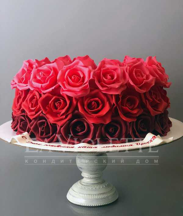 "Торт ""Розы"" №983"