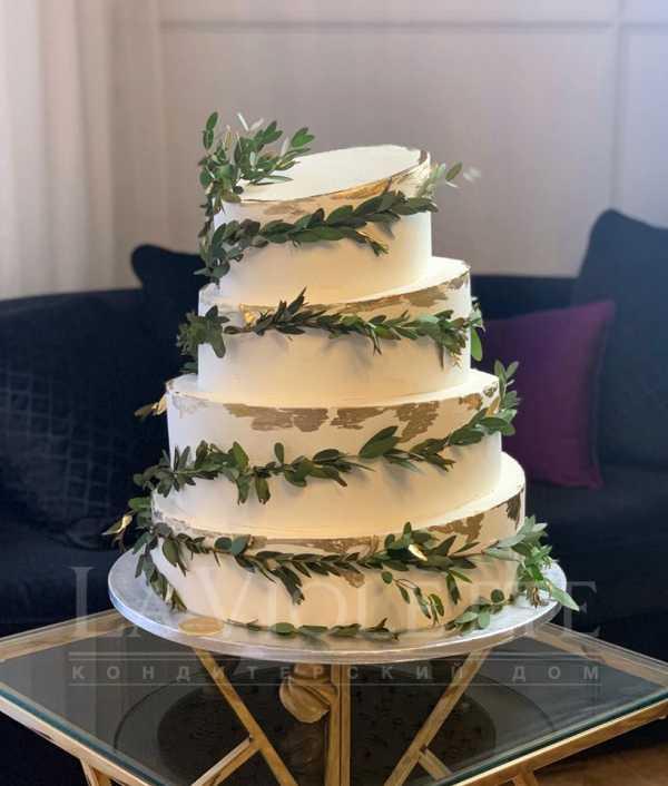 Торт с эвкалиптом №984