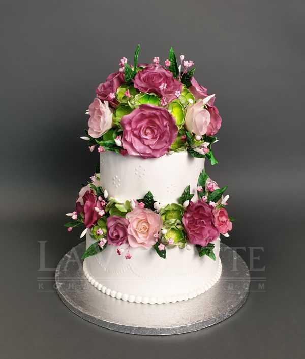 Торт на свадьбу №995