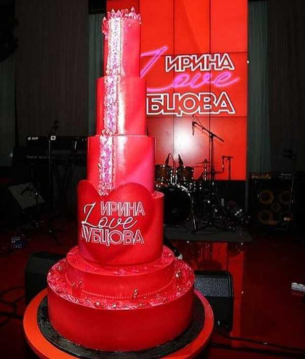 Торт для Ирины Дубцовой