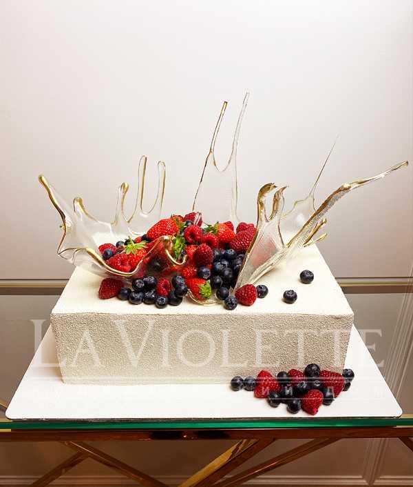 Торт с ягодами №1149